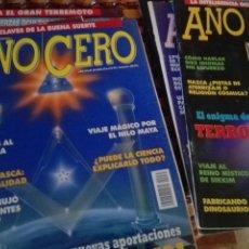 Coleccionismo de Revistas y Periódicos: LOTE SIETE REVISTAS AÑO CERO. Lote 169582832
