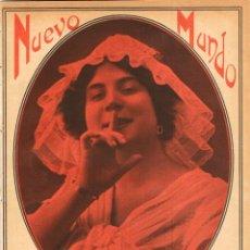 Coleccionismo de Revistas y Periódicos: NUEVO MUNDO Nº 950, 21 DE MARZO DE 1912 (VER FOTOS) LOS REYES EN ALICANTE, BATALLA DE LAS FLORES. Lote 169583172