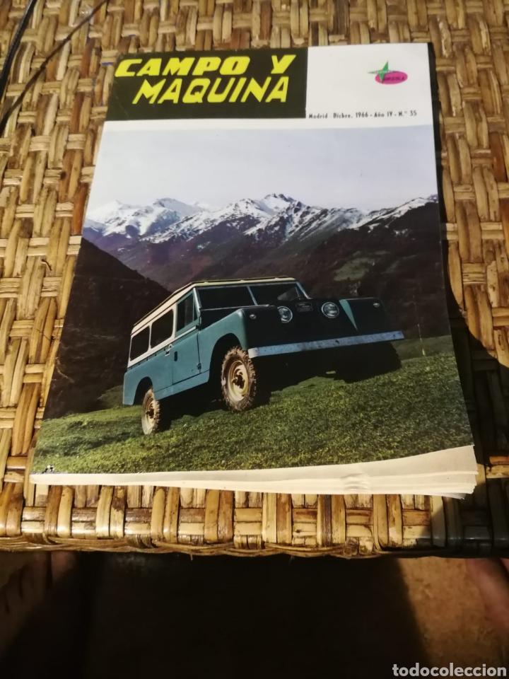 REVISTA CAMPO Y MÁQUINA NÚMERO35 (Coleccionismo - Revistas y Periódicos Modernos (a partir de 1.940) - Otros)
