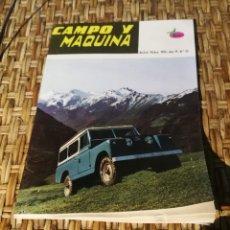Coleccionismo de Revistas y Periódicos: REVISTA CAMPO Y MÁQUINA NÚMERO35. Lote 169621540