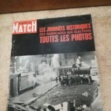 Coleccionismo de Revistas y Periódicos: REVISTA PARIS MATCH NÚMERO 998 AÑO68. Lote 169624972
