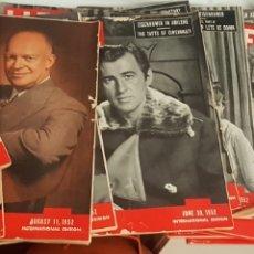 Coleccionismo de Revistas y Periódicos: LOTE 34 REVISTAS LIFE 1952 (26), 1951 (1) 1950 (1), 1954 (1), 1948 (1), 1945 (1) Y 1960 (2). Lote 169630548