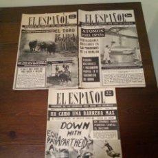 Coleccionismo de Revistas y Periódicos: SEMANARIO EL ESPAÑOL. Lote 169653642