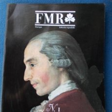 Coleccionismo de Revistas y Periódicos: REVISTA DE ARTE FMR EDICION ESPAÑOLA NÚMERO 1. Lote 169656784