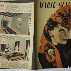 Coleccionismo de Revistas y Periódicos: REVISTA DE MODA FRANCESA MARIE CLAIRE, Nº 185, 8 DE FEBRERO DE 1941. Lote 169667408