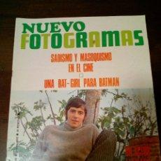Coleccionismo de Revistas y Periódicos: REVISTA NUEVO FOTOGRAMAS. Lote 169680002