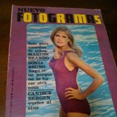 Coleccionismo de Revistas y Periódicos: REVISTA NUEVO FOTOGRAMAS. Lote 169681969