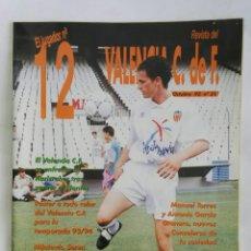 Coleccionismo de Revistas y Periódicos: EL JUGADOR N° 12 REVISTA VALENCIA C.F. OCTUBRE 93. Lote 169705428