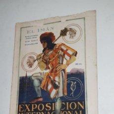 Coleccionismo de Revistas y Periódicos: EL IMAN - 1928- Nº 71 EXPOSICION INTERNACIONAL BARCELONA 1929. Lote 169734112