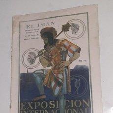 Coleccionismo de Revistas y Periódicos: EL IMAN . - Nº 74 EXPOSICION INTERNACIONAL BARCELONA 1929. Lote 169734200