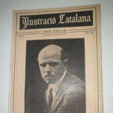 Coleccionismo de Revistas y Periódicos: ILUSTRACIO CATALANA . Nº 751 . 1917 . PAU CASALS . . Lote 169734664