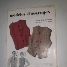 Coleccionismo de Revistas y Periódicos: MODELES D'OUVRAGES . Nº 72 1935. Lote 169735328