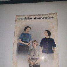 Coleccionismo de Revistas y Periódicos: MODELES D'OUVRAGES . Nº 66 1935. Lote 169735440