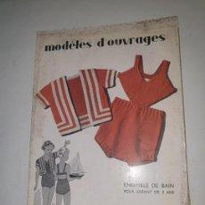 Coleccionismo de Revistas y Periódicos: MODELES D'OUVRAGES . Nº 78 1936. Lote 169735568