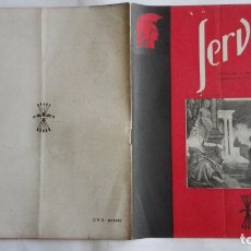 Coleccionismo de Revistas y Periódicos: REVISTA SERVICIO, Nº 42, PUBLICACION DE LA DELEGACION NACIONAL DE EDUCACION, F.E.T. Y DE LAS J.O.N.S. Lote 169739028