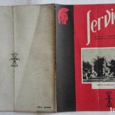 Coleccionismo de Revistas y Periódicos: REVISTA SERVICIO, Nº 31, PUBLICACION DE LA DELEGACION NACIONAL DE EDUCACION, F.E.T. Y DE LAS J.O.N.S. Lote 169739108