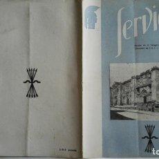 Coleccionismo de Revistas y Periódicos: SERVICIO, Nº 48, REVISTA DE LA DELEGACION NACIONAL DE EDUCACION F.E.T. Y DE LAS J.O.N.S.. Lote 169745444