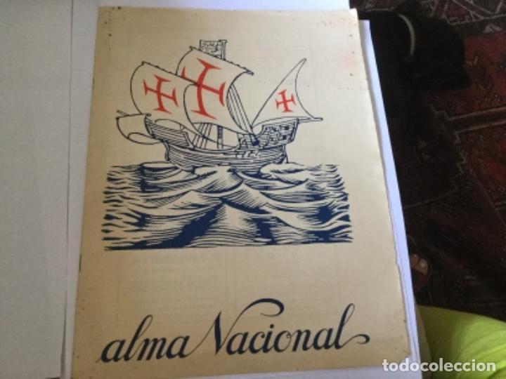 ALMA NACIONAL, PERIÓDICO PORTUGUÉS (Coleccionismo - Revistas y Periódicos Antiguos (hasta 1.939))