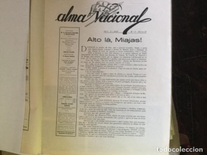 Coleccionismo de Revistas y Periódicos: ALMA NACIONAL, PERIÓDICO PORTUGUÉS - Foto 2 - 169754476