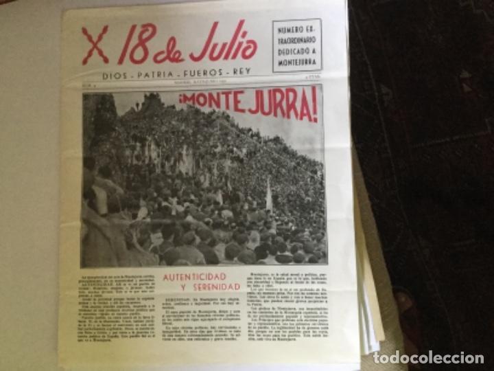 18 DE JULIO, PERIODICO (Coleccionismo - Revistas y Periódicos Modernos (a partir de 1.940) - Otros)