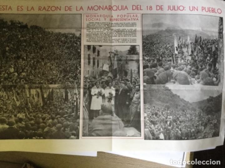 Coleccionismo de Revistas y Periódicos: 18 DE JULIO, PERIODICO - Foto 3 - 169758988