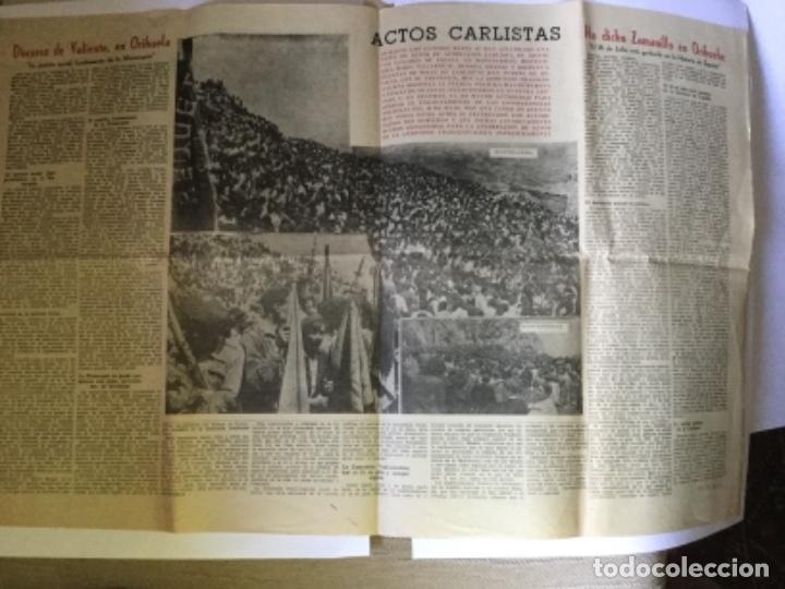 Coleccionismo de Revistas y Periódicos: 18 DE JULIO, PERIÓDICO CARLISTA - Foto 3 - 169760092