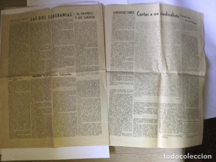 Coleccionismo de Revistas y Periódicos: 18 DE JULIO, PERIÓDICO CARLISTA - Foto 4 - 169760092