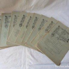 Coleccionismo de Revistas y Periódicos: LOTE REVISTAS - EL ECO FRANCISCANO -. AÑO 1905.. Lote 169764488