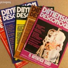 Coleccionismo de Revistas y Periódicos: DIMENSIÓN DESCONOCIDA 5 PRIMEROS NÚMEROS (1977). COMO NUEVAS. PARAPSICOLOGÍA. Lote 169771194