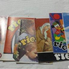 Coleccionismo de Revistas y Periódicos: REVISTA INFANTIL RÍE 1990. Lote 169774820