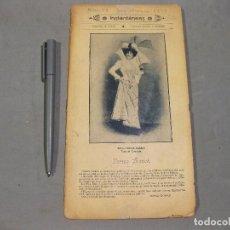 Coleccionismo de Revistas y Periódicos: REVISTA INSTANTÁNEAS. INCLUYE MUCHAS FOTOGRAFÍAS DE PUEBLOS Y CIUDADES. Nº 49, SEPTIEMBRE 1899.. Lote 169784560