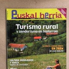 Collectionnisme de Revues et Journaux: EUSKAL HERRIA N° 16 (2005). SENDERISMO NAFARROA, CULTURA MUSULMANA Y VASCA, VUELTA EN TREN A EUSKAL. Lote 169796540