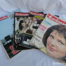 Coleccionismo de Revistas y Periódicos: LOTE 4 REVISTAS - TRIUNFO -.. Lote 169797988
