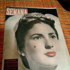 Coleccionismo de Revistas y Periódicos: REVISTA SEMANA AGOSTO 1953. Lote 169871592