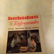 Coleccionismo de Revistas y Periódicos: REVISTA BEBIDAS REFRESCANTES N°:50. Lote 169933305