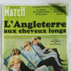 Coleccionismo de Revistas y Periódicos: REVISTA MAGAZINE PARIS MATCH N° 886 AVRIL 1966 ROLLING STONES. Lote 169938336