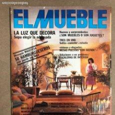 Coleccionismo de Revistas y Periódicos: EL MUEBLE N° 231 (MARZO 1981). DECORACIÓN E IDEAS PARA EL HOGAR.. Lote 169963817