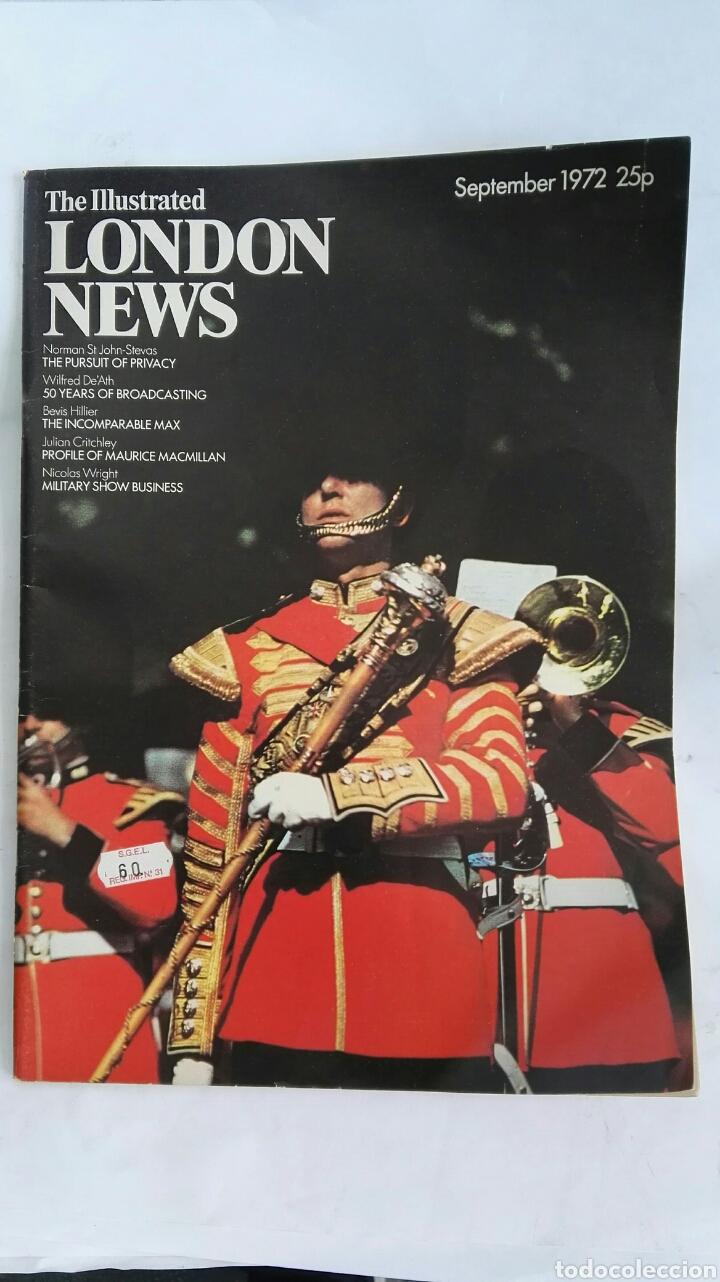 THE ILLUSTRATED LONDON NEWS SEPTEMBER 1972 (Coleccionismo - Revistas y Periódicos Modernos (a partir de 1.940) - Otros)