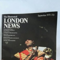 Coleccionismo de Revistas y Periódicos: THE ILLUSTRATED LONDON NEWS SEPTEMBER 1972. Lote 170135061