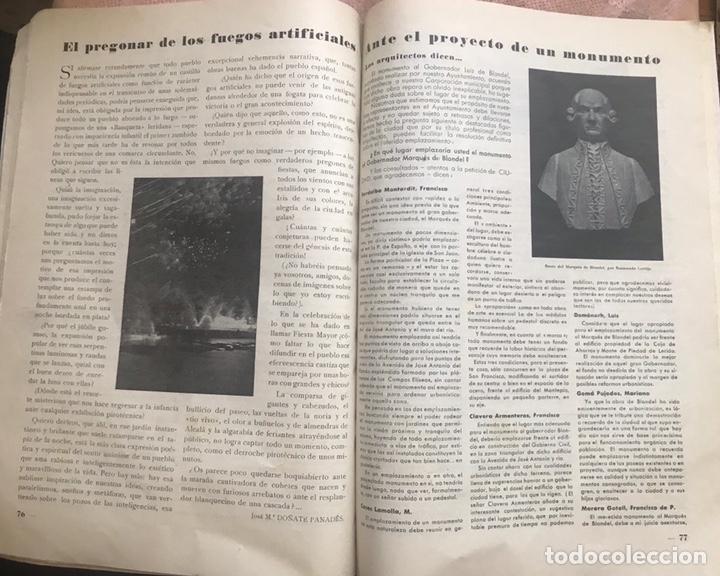 Coleccionismo de Revistas y Periódicos: REVISTA CULTURAL CIUDAD LERIDA 1950 LLEIDA FIESTAS MAYO SAN ANASTASIO FUTBOL U.E.LLEIDA CAMPEONES - Foto 7 - 170160446