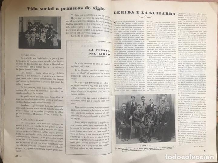 Coleccionismo de Revistas y Periódicos: REVISTA CULTURAL CIUDAD LERIDA 1950 LLEIDA FIESTAS MAYO SAN ANASTASIO FUTBOL U.E.LLEIDA CAMPEONES - Foto 9 - 170160446