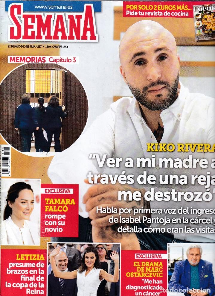 SEMANA - Nº 4.137 / MAYO 2019 (Coleccionismo - Revistas y Periódicos Modernos (a partir de 1.940) - Otros)