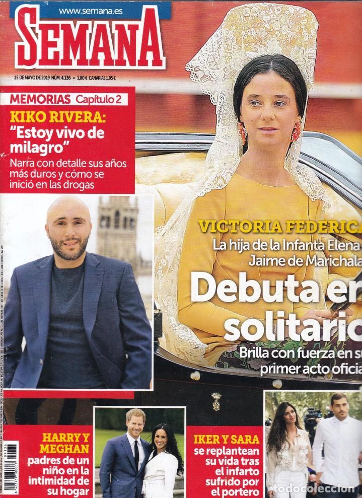 SEMANA - Nº 4.136 / MAYO 2019 (Coleccionismo - Revistas y Periódicos Modernos (a partir de 1.940) - Otros)
