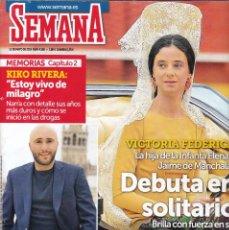 Coleccionismo de Revistas y Periódicos: SEMANA - Nº 4.136 / MAYO 2019. Lote 170162100