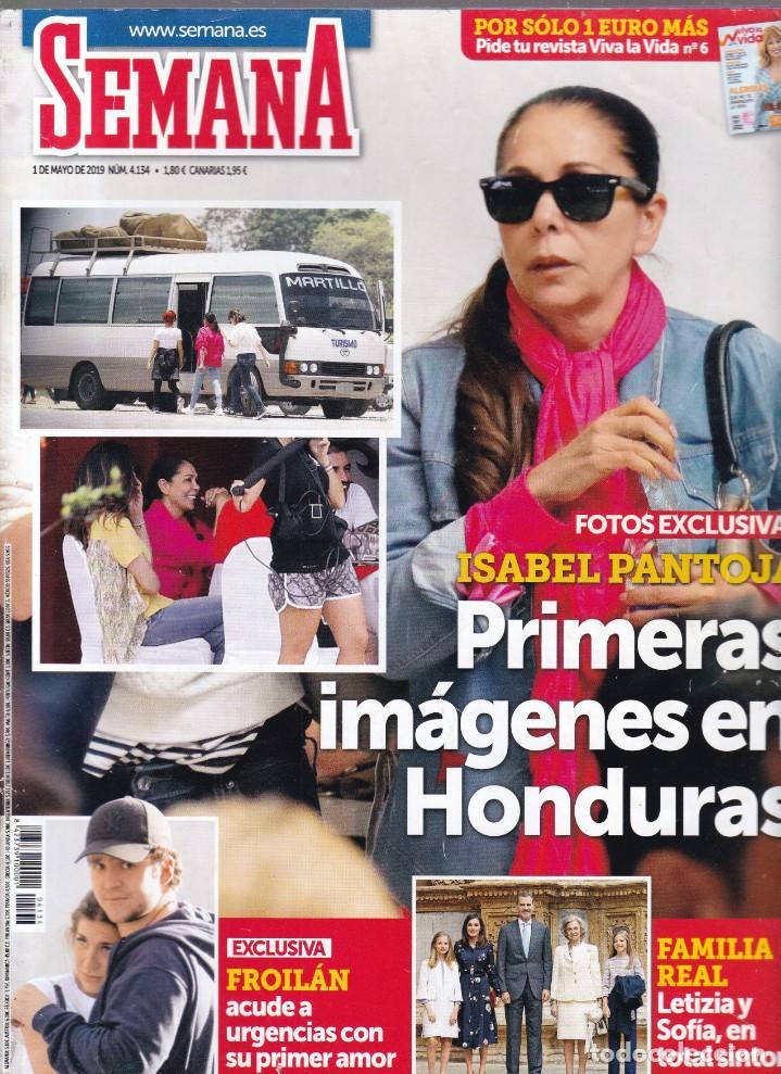 SEMANA - Nº 4.134 / MAYO 2019 (Coleccionismo - Revistas y Periódicos Modernos (a partir de 1.940) - Otros)