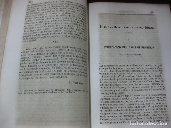 Coleccionismo de Revistas y Periódicos: ECO LITERARIO DE EUROPA. PRIMERA SECCION REVISTA UNIVERSAL. TOMO III. RODRRIGUEZ RIVERA EDITOR 1852 - Foto 5 - 170249444