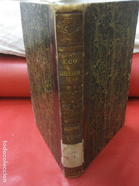 ECO LITERARIO DE EUROPA. PRIMERA SECCION REVISTA UNIVERSAL. TOMO III. RODRRIGUEZ RIVERA EDITOR 1852 (Coleccionismo - Revistas y Periódicos Antiguos (hasta 1.939))