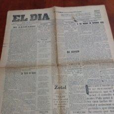 Coleccionismo de Revistas y Periódicos: EL DIA ALICANTE 1928. Lote 170288702