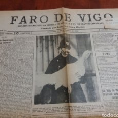 Coleccionismo de Revistas y Periódicos: FARO DE VIGO 1929.. Lote 170289772