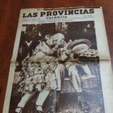 Coleccionismo de Revistas y Periódicos: LAS PROVINCIAS VALENCIA 1931REPÚBLICA.. Lote 170290450